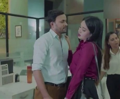 Two desi girls get caught on cam show